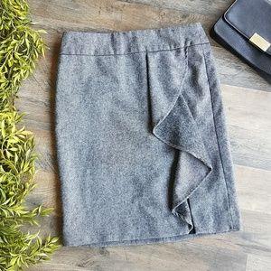 Talbots • Gray Pencil skirt
